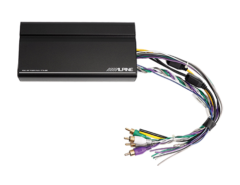 Alpine | KTA-450 | 4-Ch Power Pack Amp on